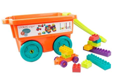 樂部落積木拖車